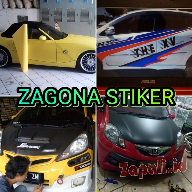 Gallery  / fotoJasa Wrapping Sticker Mobil